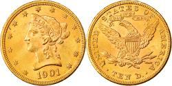 Us Coins - Coin, United States, Coronet Head, $10, Eagle, 1901, Philadelphia,