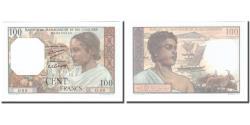 World Coins - Banknote, Comoros, 100 Francs, Undated (1960-1963), Specimen, KM:3s, UNC(65-70)