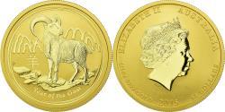 World Coins - Coin, Australia, Elizabeth II, Lunar, 50 Dollars, 2015, Perth, , Gold