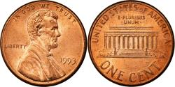 Us Coins - Coin, United States, Lincoln Cent, Cent, 1993, U.S. Mint, Philadelphia