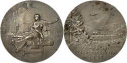 World Coins - France, Medal, Compagnie des Chemins de Fer de l'Est, Vernon, , Silver