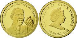 World Coins - Coin, Cook Islands, Elizabeth II, 10 Dollars, 2010, CIT, , Gold