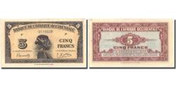 Ancient Coins - Banknote, French West Africa, 5 Francs, 1942, 1942-12-14, KM:28a, UNC(60-62)