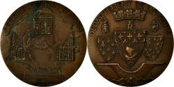 World Coins - France, Medal, Département de la Seine, Sceaux, Paris, Saint Denis, 1952