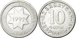 World Coins - Coin, Azerbaijan, 10 Qapik, 1992, , Aluminum, KM:2