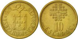 World Coins - Portugal, 10 Escudos, 1989, , Nickel-brass, KM:633