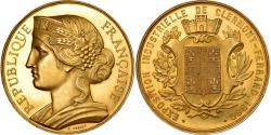 Ancient Coins - France, Medal, Marianne, Exposition de Clermont-Ferrand, 1880, Poncet,