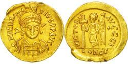 Coin, Anastasius I, Solidus, 491-518 AD, Constantinople, , Gold, Sear:3