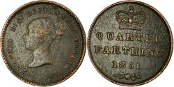 World Coins - Coin, Great Britain, Victoria, 1/4 Farthing, 1851, , Copper, KM:737