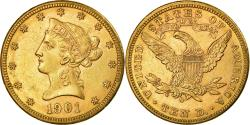 Us Coins - Coin, United States, Coronet Head, $10, Eagle, 1901, New Orleans,