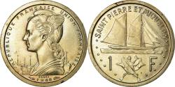 World Coins - Coin, SAINT PIERRE & MIQUELON, Franc, 1948, Paris, , Copper-nickel