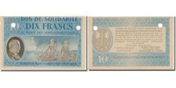 World Coins - France, Bon de Solidarité, 10 Francs, 1941, AU(55-58)
