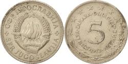 World Coins - Yugoslavia, 5 Dinara, 1973, , Copper-Nickel-Zinc, KM:58