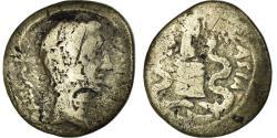Ancient Coins - Coin, Augustus, Quinarius, 29-28 BC, Emerita, , Silver, RIC:1A