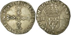 World Coins - Coin, France, Henri IV, 1/4 Ecu, 1603, Nantes, , Silver, Sombart:4686