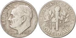 Us Coins - United States, Roosevelt Dime, Dime, 1951, U.S. Mint, Denver, , Silver