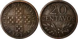 World Coins - Coin, Portugal, 20 Centavos, 1970, , Bronze, KM:595