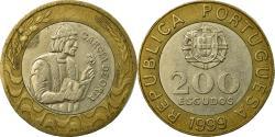 World Coins - Coin, Portugal, 200 Escudos, 1999, , Bi-Metallic, KM:655
