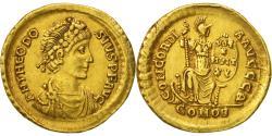 Theodosius I, Solidus, Thessalonica, , Gold, RIC:53