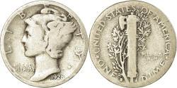 Us Coins - Coin, United States, Mercury Dime, Dime, 1928, U.S. Mint, San Francisco