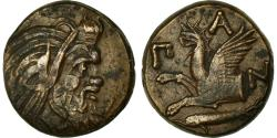 Ancient Coins - Coin, Thrace, Bronze, Chersonesos, AU(50-53), Bronze