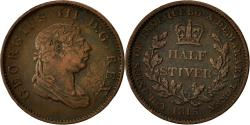 World Coins - Coin, Guyana, 1/2 Stiver, 1813, VF(30-35), Copper, KM:9