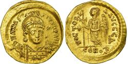 Ancient Coins - Coin, Anastasius I, Solidus, 498-518, Constantinople, , Gold, Sear:5