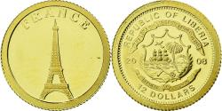 World Coins - Coin, Liberia, 12 Dollars, 2008, , Gold, KM:New