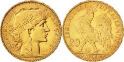 Ancient Coins - Coin, France, Marianne, 20 Francs, 1904, Paris, AU(50-53), Gold, KM:847