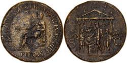 Ancient Coins - Coin, Caligula, Sestertius, 39-40, Rome, Very rare, , Bronze, RIC:44