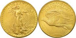 Us Coins - Coin, United States, Saint-Gaudens, $20, 1908,Philadelphia,,Gold,KM 127