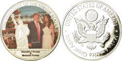 Us Coins - United States of America, Medal, Les Présidents des Etats-Unis, Donald Trump et