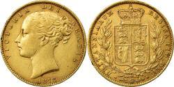 World Coins - Coin, Australia, Victoria, Sovereign, 1872, Melbourne, , Gold, KM:6