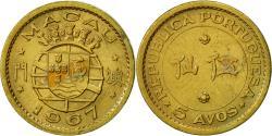World Coins - Macau, 5 Avos, 1967, , Nickel-brass, KM:1a