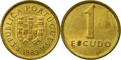World Coins - Coin, Portugal, Escudo, 1983, , Nickel-brass, KM:614