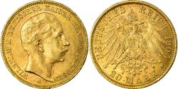 Ancient Coins - Coin, German States, PRUSSIA, Wilhelm II, 20 Mark, 1905, Berlin,