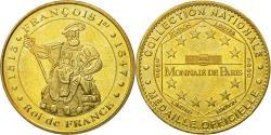 World Coins - France, Token, Touristic token, Chambord -  François 1er, 2005, MDP,