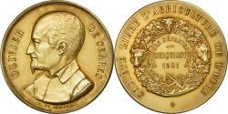 World Coins - France, Medal, Concours Agricole de Serquigny, Eure, Olivier de Serres, 1901, De