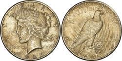 Us Coins - Coin, United States, Peace Dollar, Dollar, 1925, U.S. Mint, Philadelphia