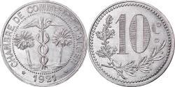 World Coins - Coin, Algeria, Chambre de Commerce, Alger, 10 Centimes, 1921,