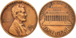 Us Coins - United States, Lincoln Cent, 1968, Denver, , KM:201