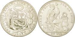 World Coins - Coin, Peru, Sol, 1926, Philadelphia, , Silver, KM:218.1