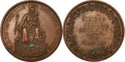 World Coins - France, Medal, Notre-Dame de la Treille, Lille, Religions & beliefs, 1854