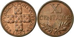 World Coins - Coin, Portugal, 10 Centavos, 1967, , Bronze, KM:583