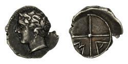 Ancient Coins - Coin, Massalia, Obol, 200-121 BC, Marseille, , Silver, SNG Cop:723-8