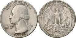 Us Coins - Coin, United States, Washington Quarter, Quarter, 1973, U.S. Mint, Denver