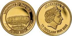 Ancient Coins - Coin, Fiji, Elizabeth II, Ayers Rock - Australie, 10 Dollars, 2011,