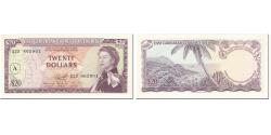 World Coins - Banknote, East Caribbean States, 20 Dollars, 1965, Undated (1965), KM:15H