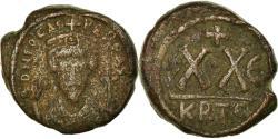 Ancient Coins - Coin, Phocas, Half Follis, 606-607, Carthage, , Copper, Sear:686