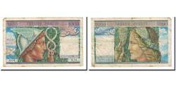 World Coins - France, 1000 Francs, 1955, VF(30-35), Fayette:VF 35.1, KM:M12a